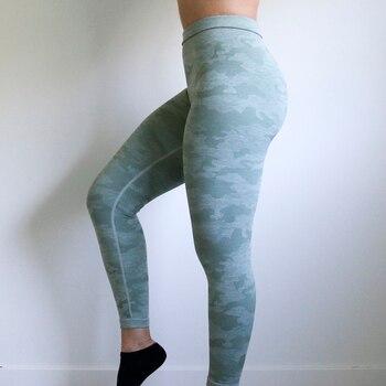 Nepoagym Women 2nd Edition Camo Seamless Leggings High Waisted Booty Leggings Gym Leggings Tummy Control Leggings