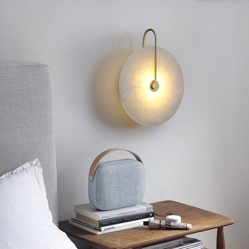 nova nordic mordern simples lampada parede 02