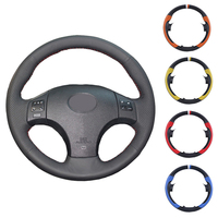 Artificial leather car steering wheel cover for Lexus IS IS250 IS250C IS300 IS300C IS350 IS350C F SPORT 2005 2011