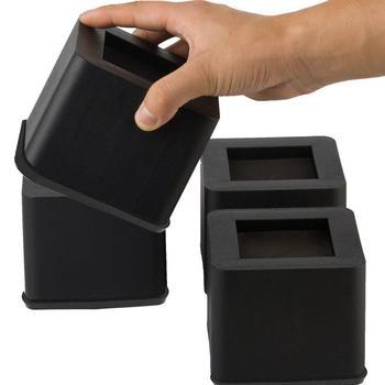 4 pièces 3 pouces lit riser meubles lourds riser lit chaise canapé table adapté pour canapés canapés fauteuils tables # CW