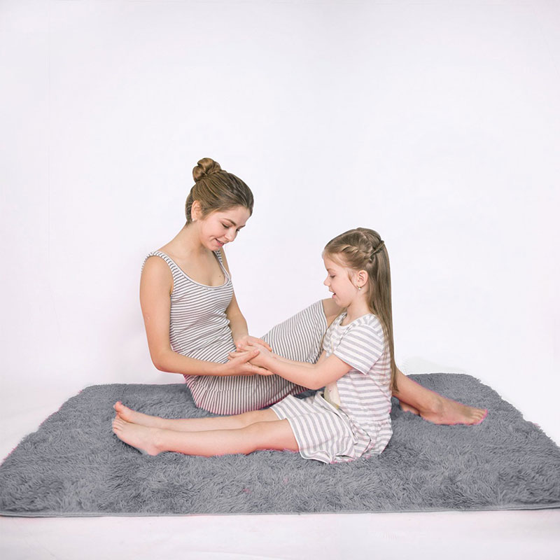 RULDGEE, Alfombra cálida de felpa peluda de Alfombra, alfombras para el suelo para niños y salas de estar, Alfombra de piel sintética esponjosa para el hogar, alfombras sedosas