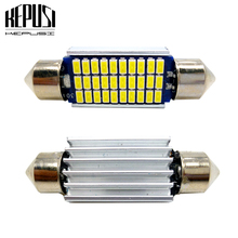2x C5W LED Festoon Bulbs 31mm 36mm 39mm 41mm Car Interior Dome Light License Plate White for toyota camry avensis corolla