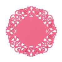 Fleur évider Silicone napperon table à manger tapis tapis tasse bol support caboteur cuisine accessoires vaisselle