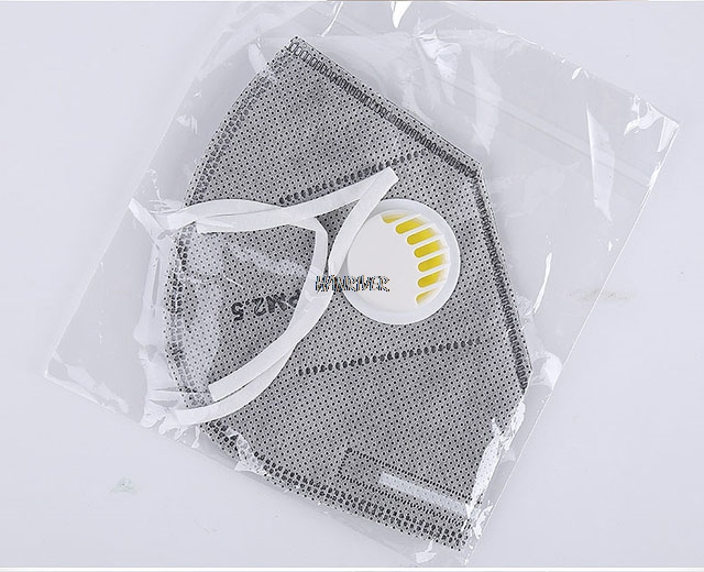 Qty 10x 3D Respirator Folding Filter Breathing Anti-smog Anti-dust Anti-odor Windproof Ear-hook Medical Protection Masks