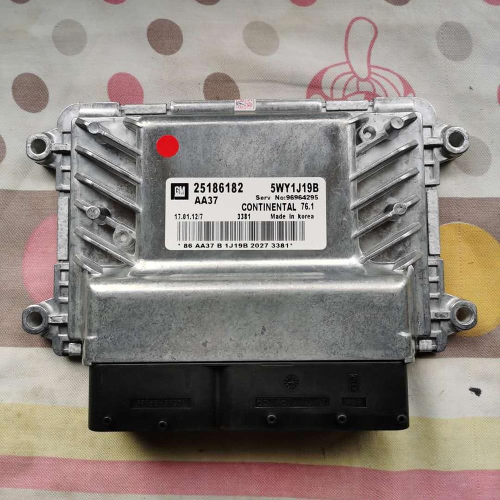 Оригинальная новая Автомобильная материнская плата двигателя ECU с программой 25186182 5WY1J19B 5WY1J45A для Chevrolet Cruze Epica