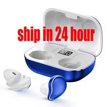 Wireless Earphones Mini In-ear Bluetooth Headphones Sports I