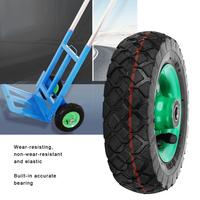 6inch Wear Resistant Wheel Tire Industrial Grade Cart Trolley Caster 6001  2RS Inflatable Tyre 250kg 36PSI Wheel Replacement|Casters| |  -