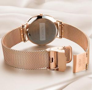 Image 4 - OLMECA Reloj de lujo para mujer, reloj de pulsera femenino, resistente al agua, envío directo