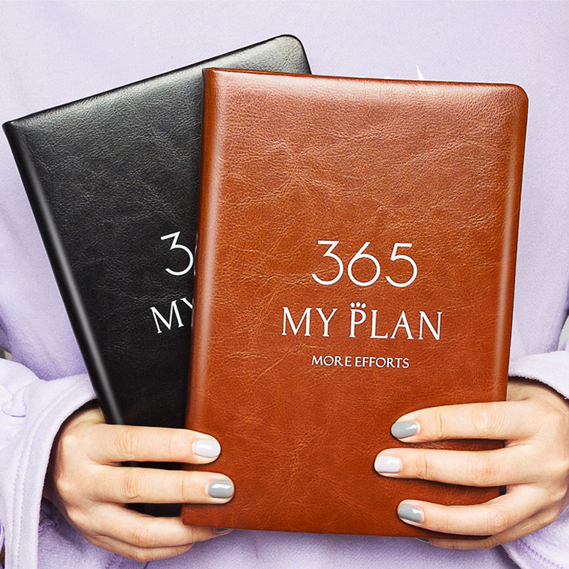 2020 Planner Notebook 365 Days Plan Note Book Monthly Weekly Schedule Writing Book @M23