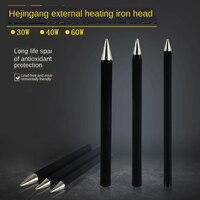 3Pcs Lead-free Black King Kong External Thermal 30W 40W 60W Environmental Protection Tip Tip B B Tsui