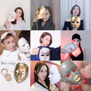 Image 5 - Led Mask Face Facial Mask 5 Types 7 Colors Electric Machine Light Therapy Acne Mask Neck Led Mask Beauty Led Photon Therap