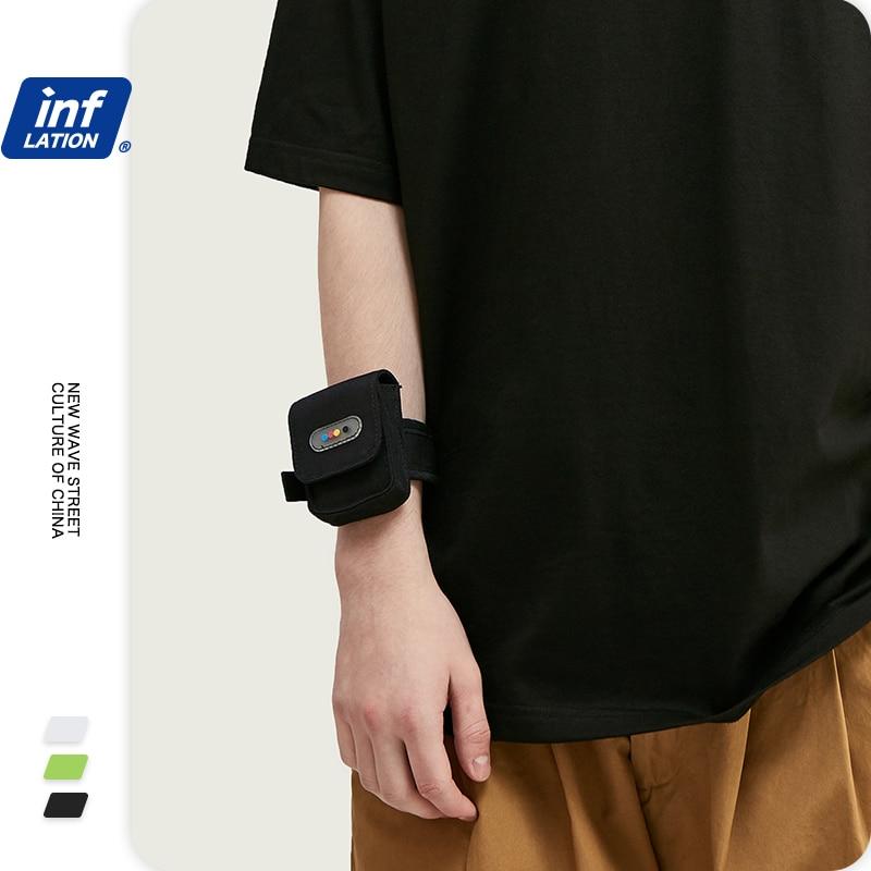 INFLATION 2020 Design Outdoor Sports Men Armband Bag Gym Running Mini Couple Bag Arm Band Streetwear Boys Bags 296AI2019