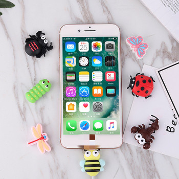 New Cute Animal Cable Protector Cable Winder for Phone Cable Buddies Bite Wire Holder Cartoon Cable Bite Phone Holder Accessory