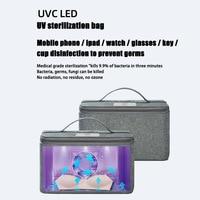 UV Bag Eliminator for Clothes Underwear Sock Mask Ultraviolet Pack for Makeup Pantie 28X22.5X7cm Home Storage & Organization