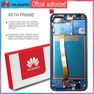 Image 3 - 100% orijinal LCD ile çerçeve + parmak izi HUAWEI onur 10 için ekran dokunmatik ekran Digitizer meclisi COL L29 onarım parçaları