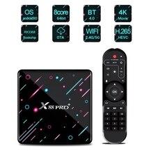 X88 PRO PLUS Android 9.0 Smart TV Box UHD 4K Media Player RK