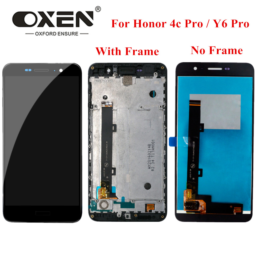 OXEN 5.0 inch <font><b>LCD</b></font> Display for <font><b>Huawei</b></font> <font><b>Y6</b></font> <font><b>Pro</b></font> Y6pro <font><b>TIT</b></font>-<font><b>AL00</b></font> <font><b>TIT</b></font>-U02 <font><b>LCD</b></font> Touch Screen Digitizer Assembly Replacement 100% Tested image