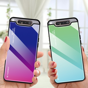 Image 4 - Gradient Tempered Glass Case For Samsung Galaxy A50 A70 Note 10 9 8 S8 S9 S10 Plus S10e A 80 30S 40 20e A51 A71 Phone Case Cover