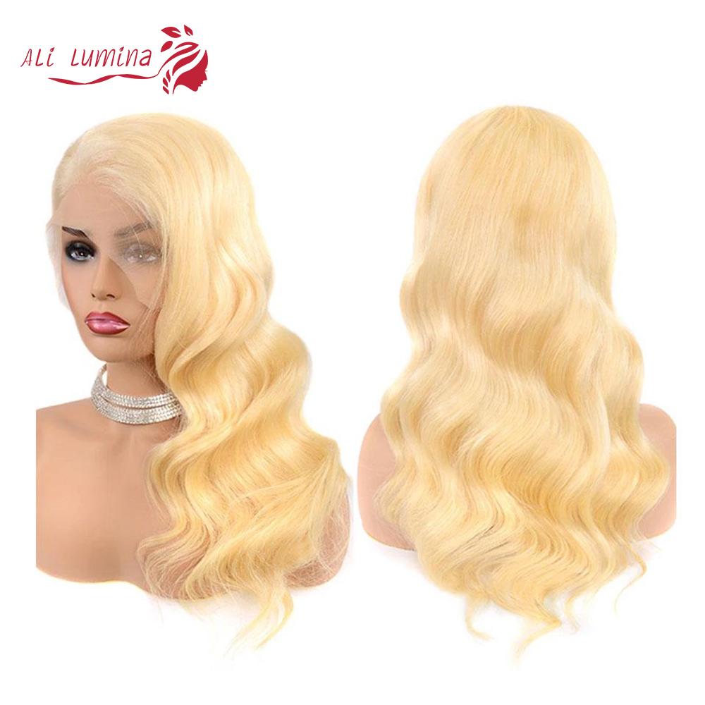 613 Honey Blonde lace front wig  Body Wave Lace Front  Wig 8-26 inch Ombre Frontal Wigs for Black Women 2