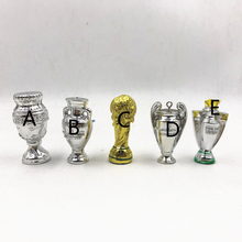 Doll-Accessories Trophy Figures Champion Soccer Mini Ballon Sample Cartoon Resin Cup