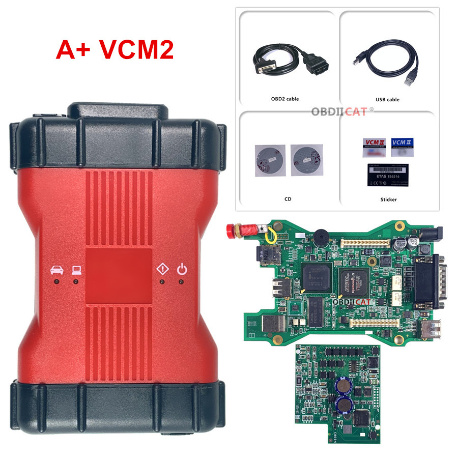 Best Quality Full Chip VCM 2 Multi-Language Diagnostic Tool