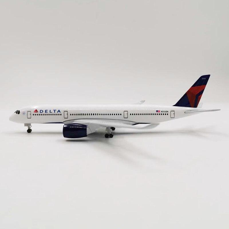 20 см 1:300 Аэробус A320 NEO DELTA Boeing авиакомпании самолеты самолет сплава модель игрушки коллективных детская коллекция