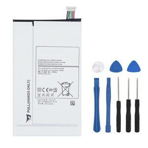OHD Original High Capacity Battery EB-BT705FBE EB-BT705FBC For Samsung Galaxy Tablet Tab S 8.4 SM-T700 T700 T705 4900mAh + Tool