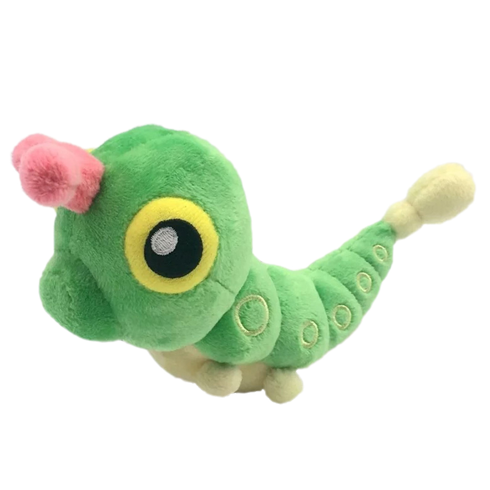 Caterpie Plush Cartoon Anime Caterpillar Doll Game Butterfree Toys Cute For Children Gift