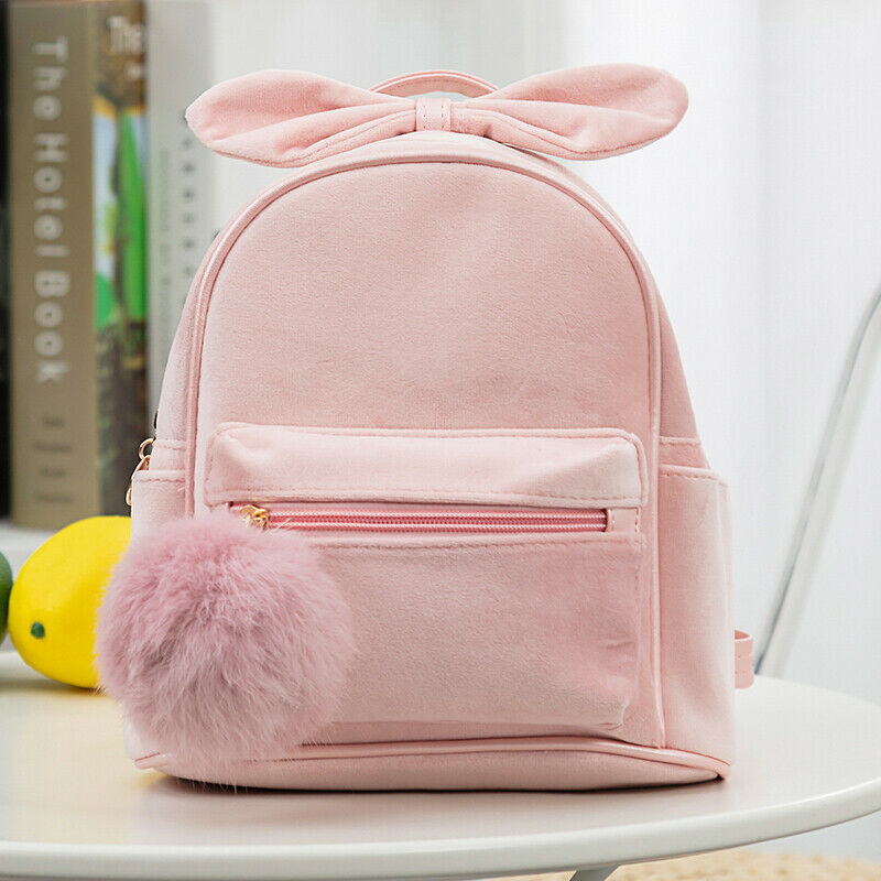 Cute Kid Toddler Mini Backpack Kindergarten Schoolbag Baby Cartoon Bowknot Shoulder Bag Handbag Fashion