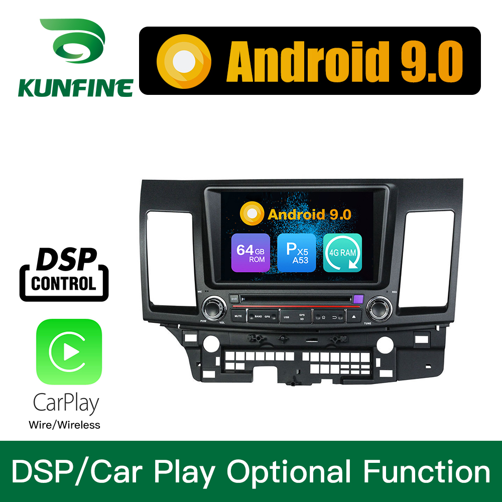 Android 9.0 Octa Core 4GB RAM 64GB Rom Car DVD GPS Multimedia Player Car Stereo for MITSUBISHI Lancer 2014-2015 Radio WIFI image