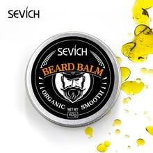 Sevich Men Organic HEMP Beard Balm Moustache Wax Styling Beeswax Moisturizing Sm
