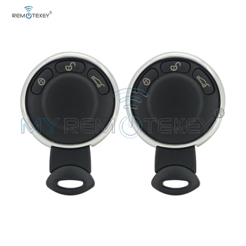 Remtekey 2pcs remote key keyless entry 3 button 315mhz IYZKEYR5602 for Mini Cooper 2007 2008 2009 2010 2011 smart key