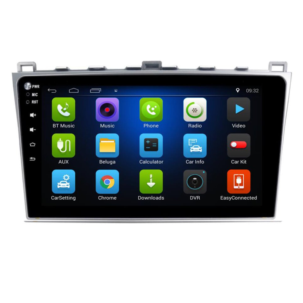 4G LTE Android 9.0 2+32G For Mazda 6 Rui wing 2008 2009 2010 2011 <font><b>12</b></font>- 2014 Multimedia Stereo Car DVD Player Navigation GPS radio image