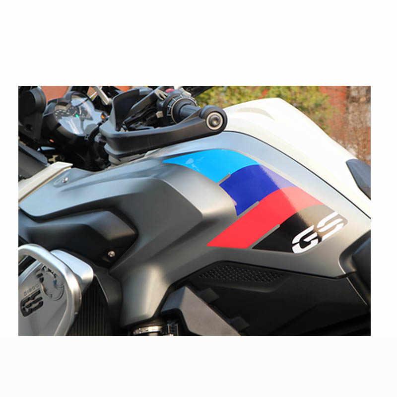 For BMW R1200GS Grip 2013-2017 Tanque de Combustible Suaves Almohadillas de Goma Pegatinas Lateral del coj/ín de Gas Calcoman/ías R 1200 GS R1200 13 14 15 16 17 Color : 1 Reflective Light