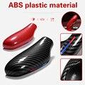 Новый автомобиль ABS углерода Шестерни рукоятка рычага переключения передач Стикеры Накладка для BMW 5 серии X3 X4 G30 G31 G01 G02 G32 6gt для леворульных ...