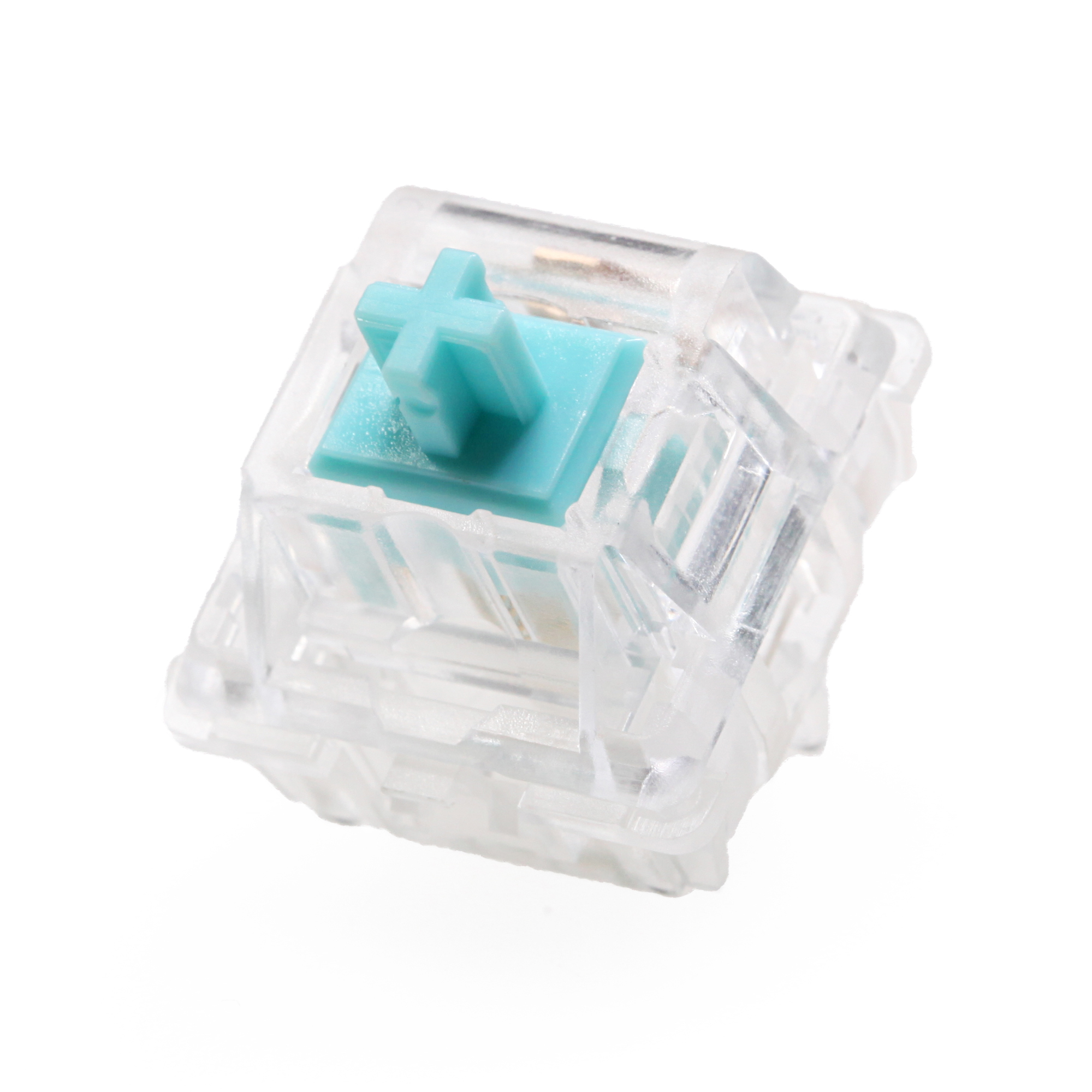 EVERGLIDE SWITCH Tourmaline Blue Cyan  Mx Stem With Mx Stem For Mechanical Keyboard 5pin 45g Linear