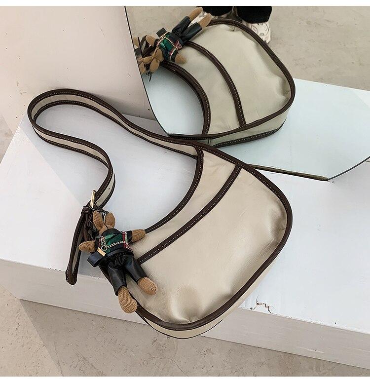 vintage couro do plutônio alta qualidade crossbody bolinhos saco