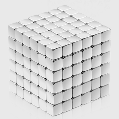 216Pcs set 3mm 3D Magic Magnet Magnetic Blocks Balls Sphere Cube Beads Building Toys Party DIY