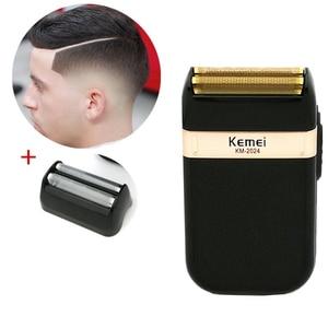 Image 4 - Kemei Professional Electric Hair Clipper Rechargeable Cordless Hair Trimmer Beard Shaver Hair Cutting Machine Hair Cutter Barber