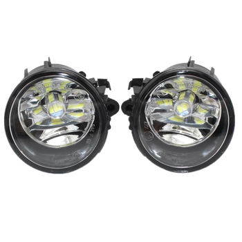 2pcs Left & Right Led Fog Lamp For BMW X5 F15 2014 2015 2016 2017 2018 Front LED Fog Light Fog Lamp With Gifts And Bulb image