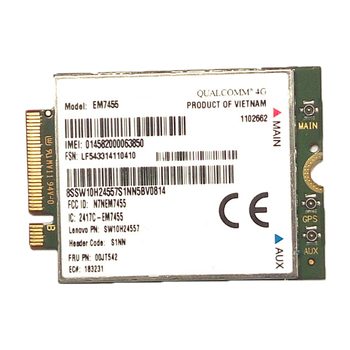 4G LTE WWAN CARD for Sierra Wireless Airprime EM7455 GOBI6000 FRU:S1NN for Lenovo X270 T470 T470S T470P P51 P71 2017 X1+Antenna