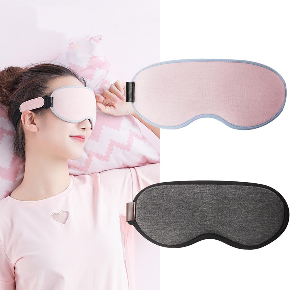 Temperature Control Heat Steam Cotton 3D Eye Mask Care Dry Tired Compress Pad