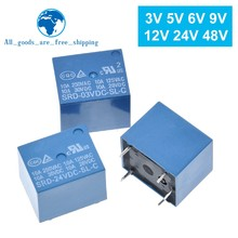 Röleler SRD-03VDC-SL-C SRD-05VDC-SL-C SRD-06VDC-SL-C SRD-09VDC-SL-C SRD-12VDC-SL-C 3V 5V 6V 9V 12V 24V 48V 10A 250VAC 5PIN
