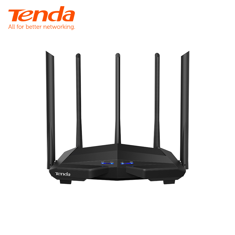 <font><b>Tenda</b></font> AC11 AC1200M Wireless WiFi Router with 2.4G/5.0G High Gain Antenna Home Coverage Dual Band Wireless Router,App Control image