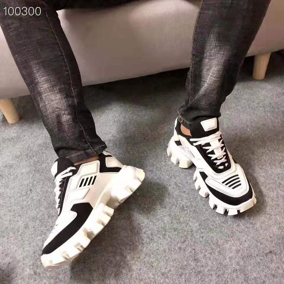 2020 High Quality Fashion Brand Designer Trainers Cloudburst Thunder Black White Blue Red Yellow Sneakers Man Casual Shoes 39-46