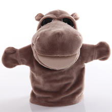 Hand-Puppet Plush-Toys Animal Story Baby Educational Kids for Gifts 1pcs 25cm Pretend-Playing-Dolls