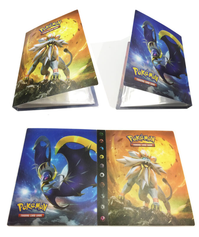 New Fashion Pokemon Cards Album Book List Card Collectors 240Pcs Capacity Cards Holder Gift