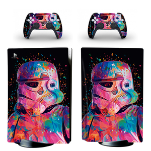 Image 1 - Wart Style PS5 Disc Edition Skin Sticker for Playstation 5 Console & 2 Controllers Decal Vinyl Protective Skins Style 4