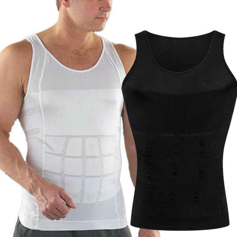 Zomer Mannen Slim Body Lift Shaper Belly Fatty BUSTER Ondergoed Vest Corset Compressie Afslanken Body Shaper