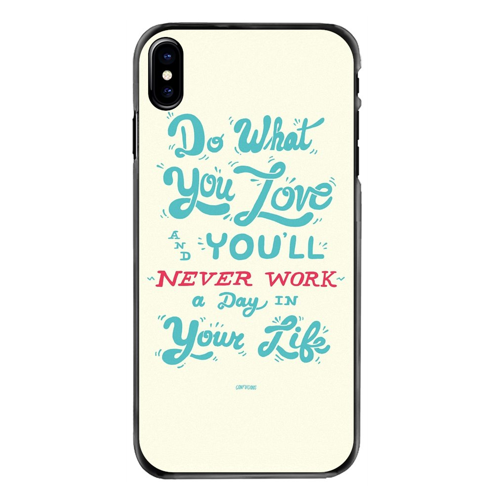 For iPhone 11 Pro iPod Touch 4 4S 5 5S 5C SE 6 6S 7 8 Plus X XR XS MAX Accessories Phone Cases Cover do what you love Art Poster image
